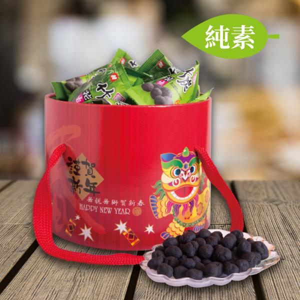 福氣包財竹炭花生(300公克/桶)